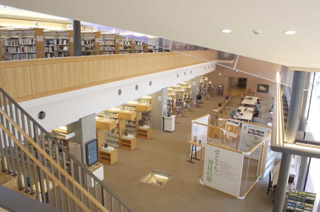 瀬戸内市民図書館 もみわ広場